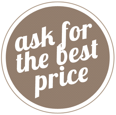 ask for the best price